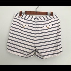 Banana Republic Shorts - SOLD Banana Republic striped blue white shorts.
